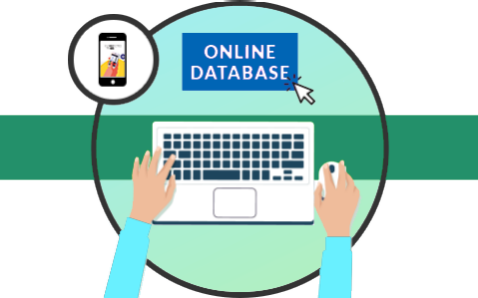 Get access to the Online Database