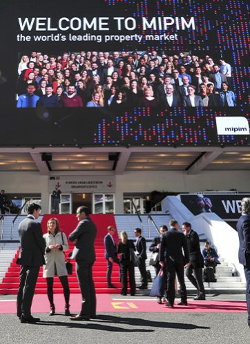 A view of last MIPIM's event at Cannes